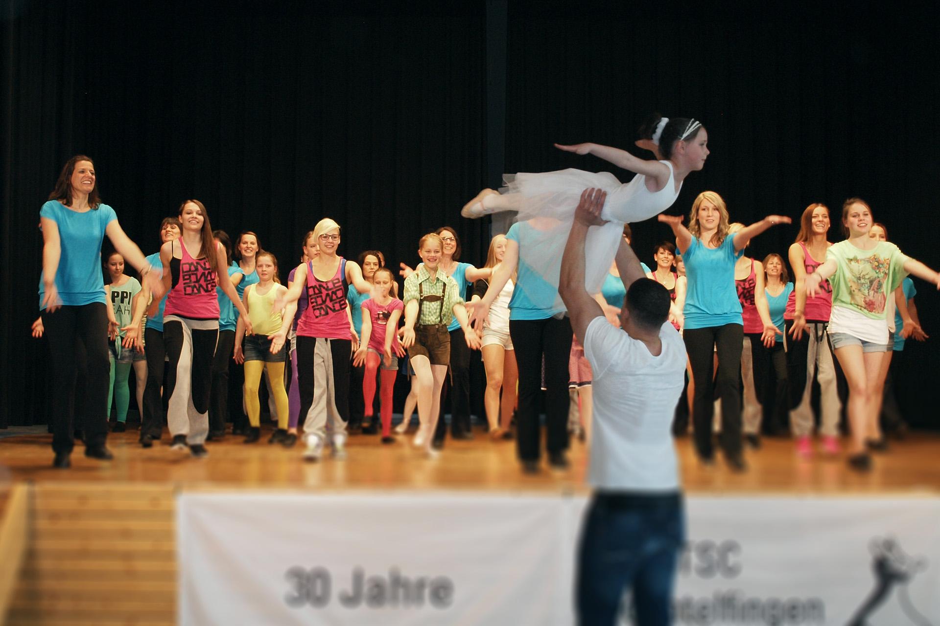 Verein Trochtelfingen tanzen im Verein
